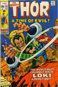 Cover Thumbnail for Thor (Marvel, 1966 series) #191 [Regular Edition]