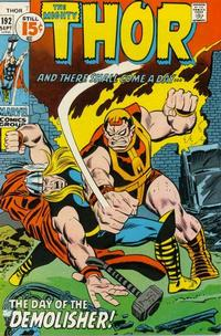 Cover Thumbnail for Thor (Marvel, 1966 series) #192 [Regular Edition]