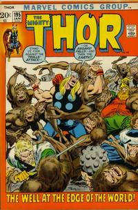 Cover Thumbnail for Thor (Marvel, 1966 series) #195