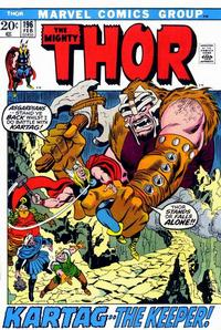 Cover Thumbnail for Thor (Marvel, 1966 series) #196 [Regular Edition]