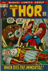 Cover Thumbnail for Thor (Marvel, 1966 series) #198