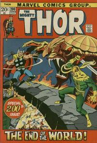 Cover Thumbnail for Thor (Marvel, 1966 series) #200