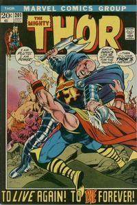 Cover Thumbnail for Thor (Marvel, 1966 series) #201