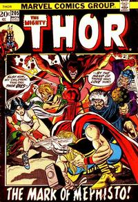 Cover Thumbnail for Thor (Marvel, 1966 series) #205 [Regular Edition]