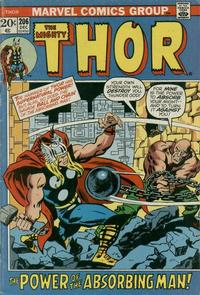 Cover Thumbnail for Thor (Marvel, 1966 series) #206