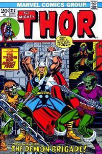 Cover Thumbnail for Thor (Marvel, 1966 series) #213 [Regular Edition]
