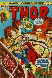 Cover Thumbnail for Thor (Marvel, 1966 series) #215 [Regular Edition]