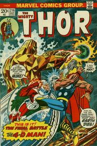 Cover Thumbnail for Thor (Marvel, 1966 series) #216 [Regular Edition]