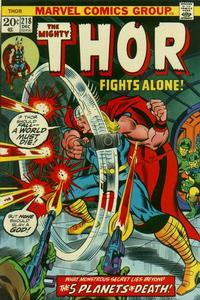 Cover Thumbnail for Thor (Marvel, 1966 series) #218 [Regular Edition]