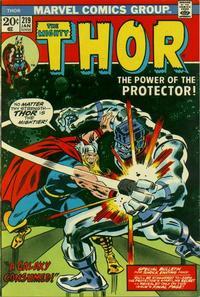 Cover Thumbnail for Thor (Marvel, 1966 series) #219 [Regular Edition]