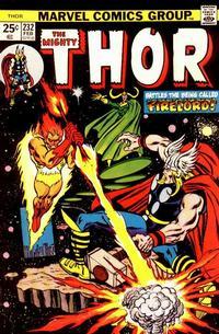 Cover Thumbnail for Thor (Marvel, 1966 series) #232 [Regular Edition]