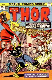 Cover Thumbnail for Thor (Marvel, 1966 series) #233 [Regular Edition]