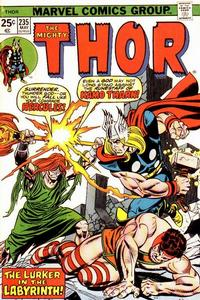 Cover Thumbnail for Thor (Marvel, 1966 series) #235 [Regular Edition]