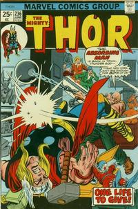 Cover Thumbnail for Thor (Marvel, 1966 series) #236 [Regular Edition]