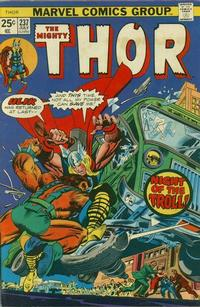 Cover Thumbnail for Thor (Marvel, 1966 series) #237 [Regular Edition]