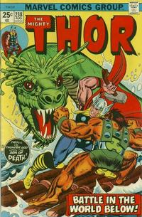 Cover Thumbnail for Thor (Marvel, 1966 series) #238 [Regular Edition]