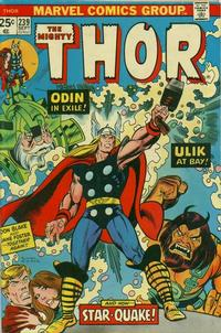 Cover Thumbnail for Thor (Marvel, 1966 series) #239 [Regular Edition]