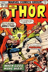 Cover Thumbnail for Thor (Marvel, 1966 series) #240 [Regular Edition]