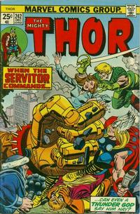 Cover Thumbnail for Thor (Marvel, 1966 series) #242 [Regular Edition]