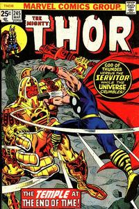 Cover Thumbnail for Thor (Marvel, 1966 series) #245 [Regular Edition]