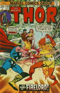 Cover Thumbnail for Thor (Marvel, 1966 series) #246 [Regular Edition]