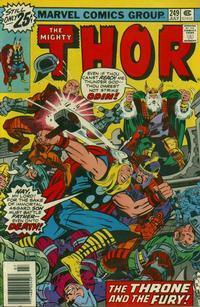 Cover Thumbnail for Thor (Marvel, 1966 series) #249 [Regular Edition]