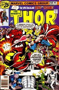 Cover Thumbnail for Thor (Marvel, 1966 series) #250 [25¢ Cover Price]