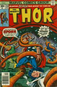 Cover Thumbnail for Thor (Marvel, 1966 series) #256 [Regular Edition]