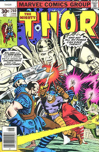 Cover Thumbnail for Thor (Marvel, 1966 series) #260 [30¢ Cover Price]
