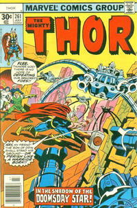 Cover Thumbnail for Thor (Marvel, 1966 series) #261 [30¢ Cover Price]