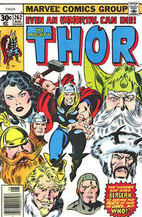 Cover Thumbnail for Thor (Marvel, 1966 series) #262 [30¢ Cover Price]