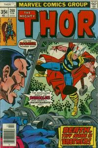 Cover Thumbnail for Thor (Marvel, 1966 series) #268 [Regular Edition]