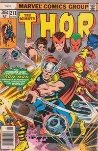 Cover Thumbnail for Thor (Marvel, 1966 series) #271 [Regular Edition]