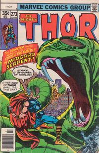 Cover Thumbnail for Thor (Marvel, 1966 series) #273 [Regular Edition]