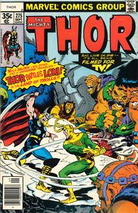 Cover Thumbnail for Thor (Marvel, 1966 series) #275 [Regular Edition]