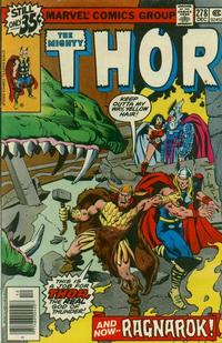 Cover Thumbnail for Thor (Marvel, 1966 series) #278