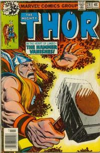Cover Thumbnail for Thor (Marvel, 1966 series) #281 [Regular Edition]
