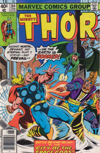 Cover Thumbnail for Thor (Marvel, 1966 series) #284