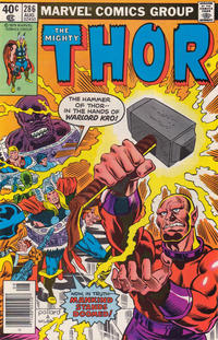 Cover Thumbnail for Thor (Marvel, 1966 series) #286 [Newsstand]