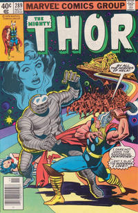 Cover Thumbnail for Thor (Marvel, 1966 series) #289