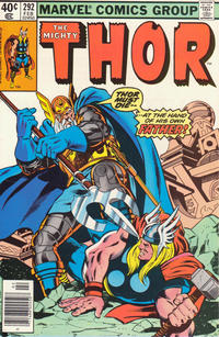 Cover Thumbnail for Thor (Marvel, 1966 series) #292