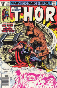 Cover Thumbnail for Thor (Marvel, 1966 series) #293 [Newsstand]