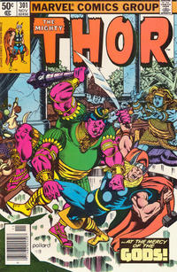 Cover Thumbnail for Thor (Marvel, 1966 series) #301 [Direct Edition]