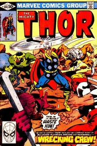 Cover Thumbnail for Thor (Marvel, 1966 series) #304