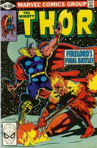 Cover Thumbnail for Thor (Marvel, 1966 series) #306 [Direct]