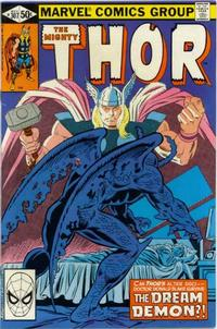 Cover Thumbnail for Thor (Marvel, 1966 series) #307 [Direct]