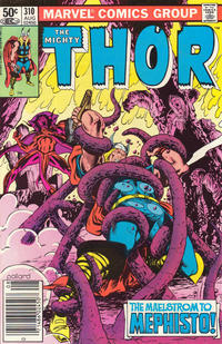 Cover Thumbnail for Thor (Marvel, 1966 series) #310