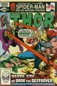 Cover Thumbnail for Thor (Marvel, 1966 series) #314 [Direct Edition]