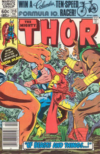 Cover Thumbnail for Thor (Marvel, 1966 series) #316