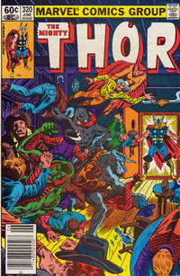 Cover Thumbnail for Thor (Marvel, 1966 series) #320